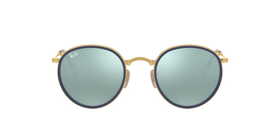5de89ef933d90 Óculos de Sol Ray-Ban RB3517 Round Dobrável
