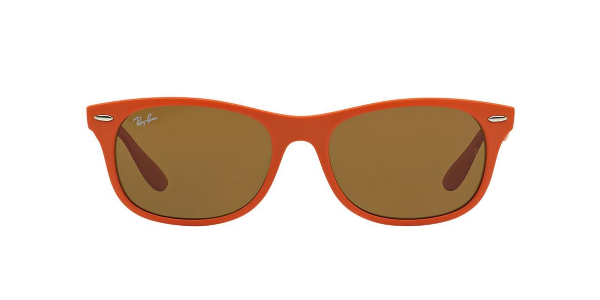 545d3c552b Ray-Ban RB4207 55 Brown Classic B-15   Orange Sunglasses
