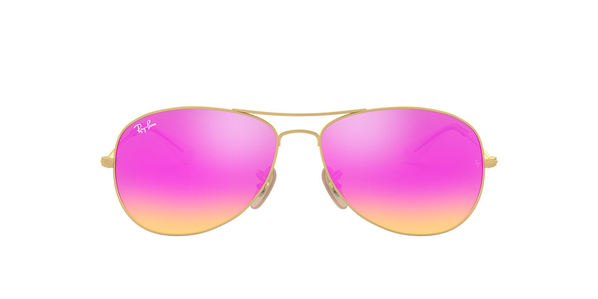 d163529264 Ray-Ban RB3362 56 Cyclamen Flash   Gold Sunglasses