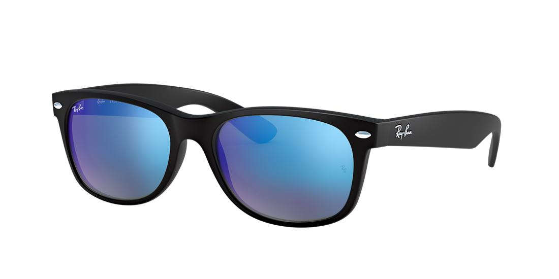 Ray-Ban Wayfarer Black Matte Square Sunglasses - rb2132