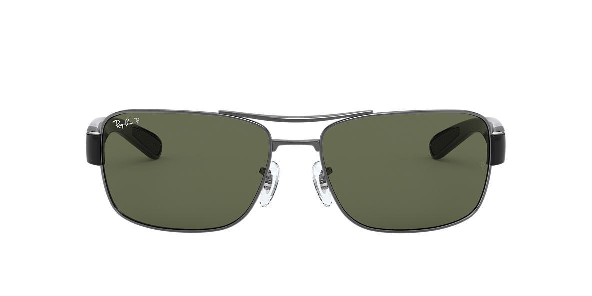 Gunmetal RB3522 Green  64