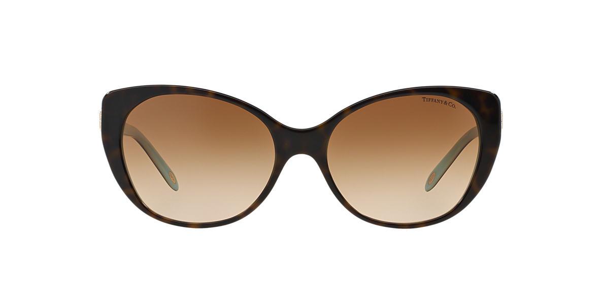69648342e8f Tiffany TF4099H 57 Brown   Tortoise Sunglasses