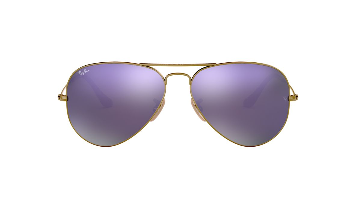 Ray-Ban RB3025 55 ORIGINAL AVI 55 Pink & Bronze Matte Sunglasses ...