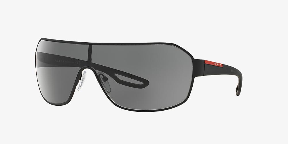 637bd43c2137 Prada Linea Rossa PS 52QS 01 Grey-Black & Black Sunglasses ...