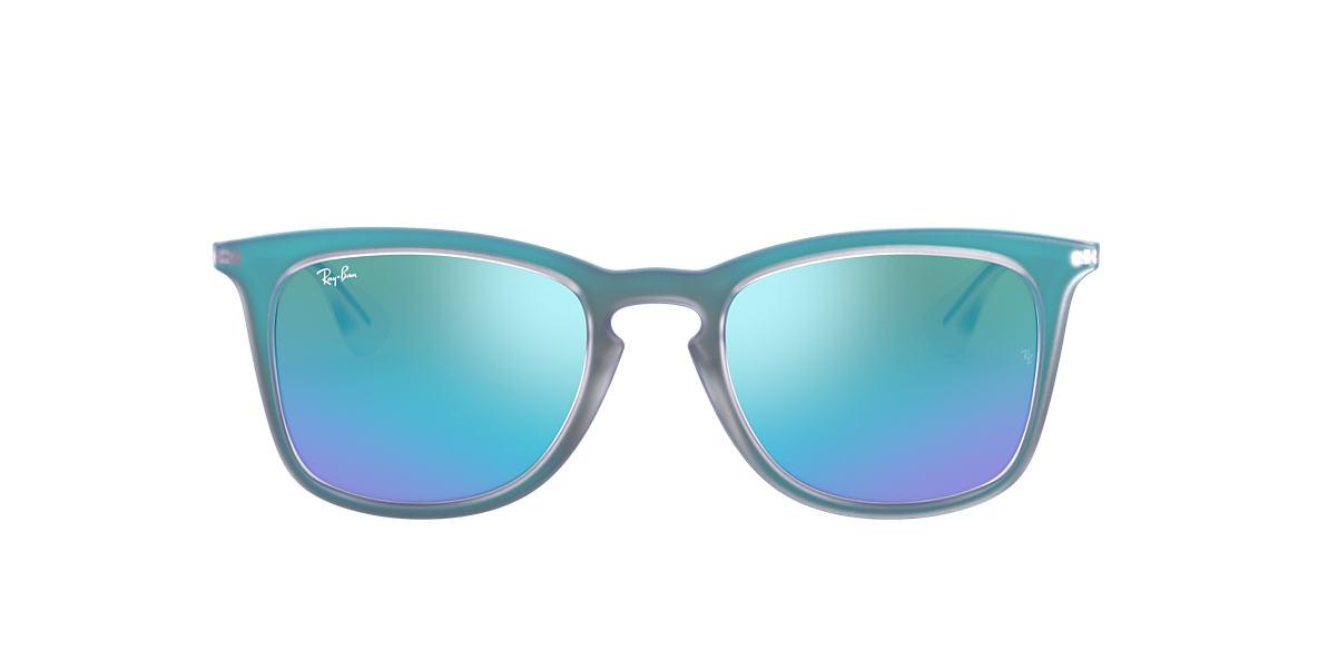 Blue RB4221 Blue Mirror  50
