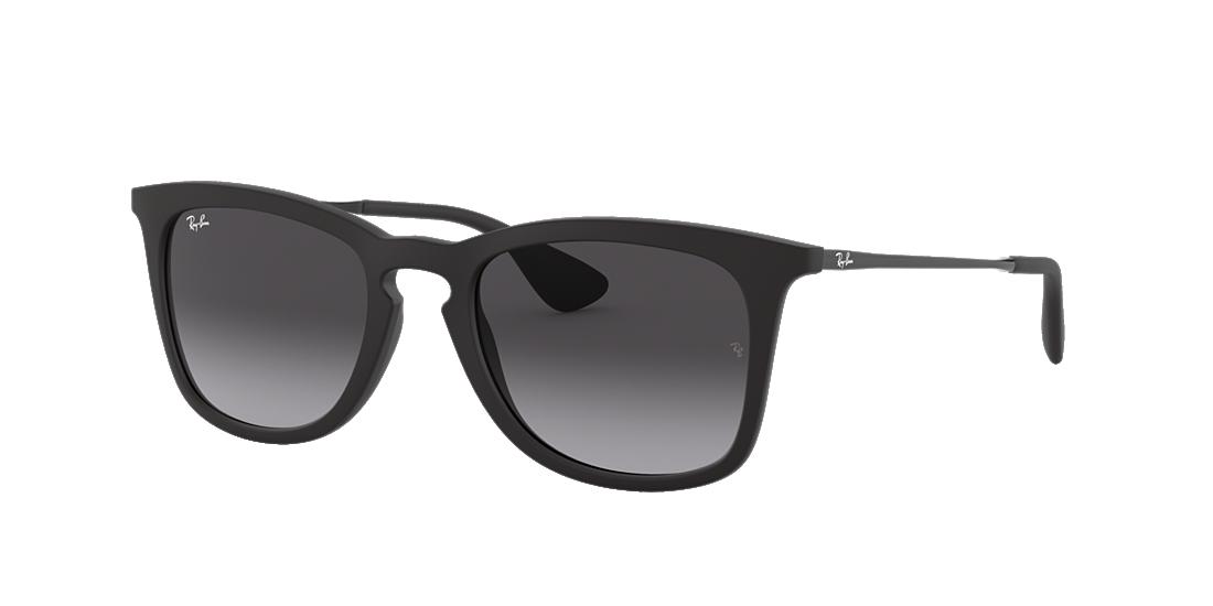 43ee0927dc Ray-Ban RB4221 50 Grey-Black   Black Sunglasses