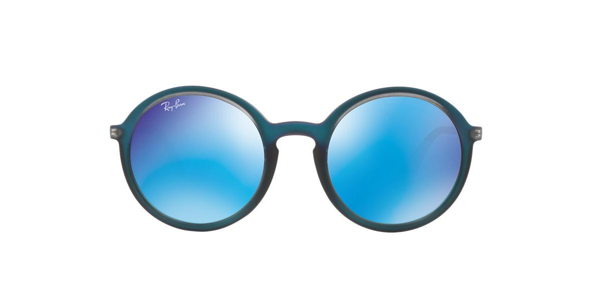 3f85e9916892a Ray-Ban RB4222 50 Blue Mirror   Blue Sunglasses