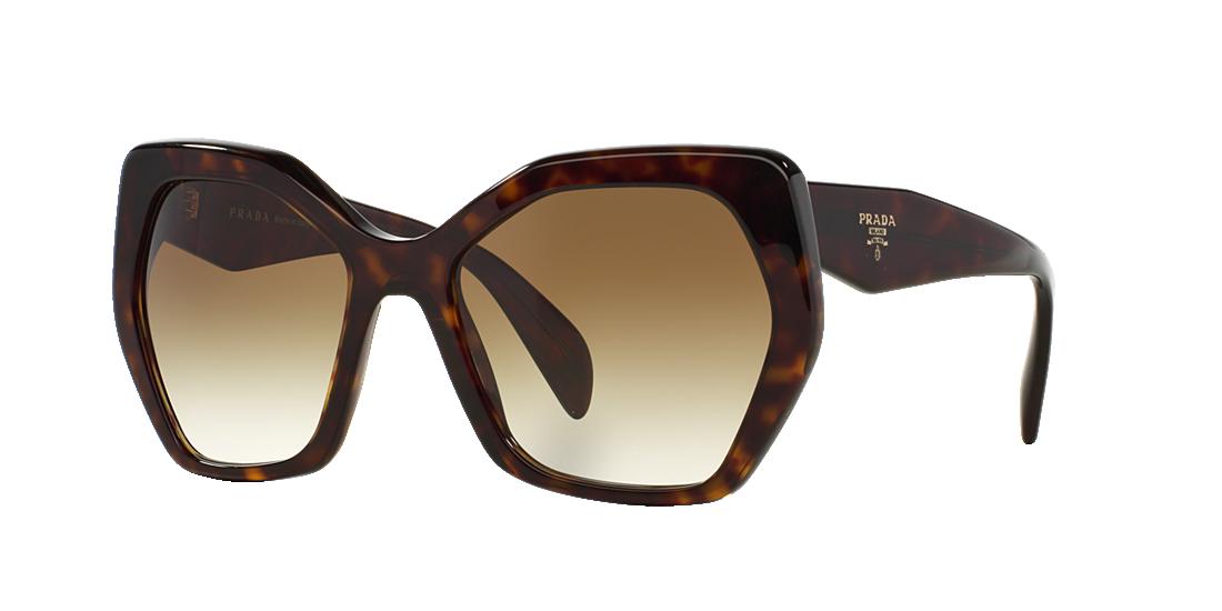 1ea8732396 Prada PR 16RS 56 Green   Tortoise Sunglasses