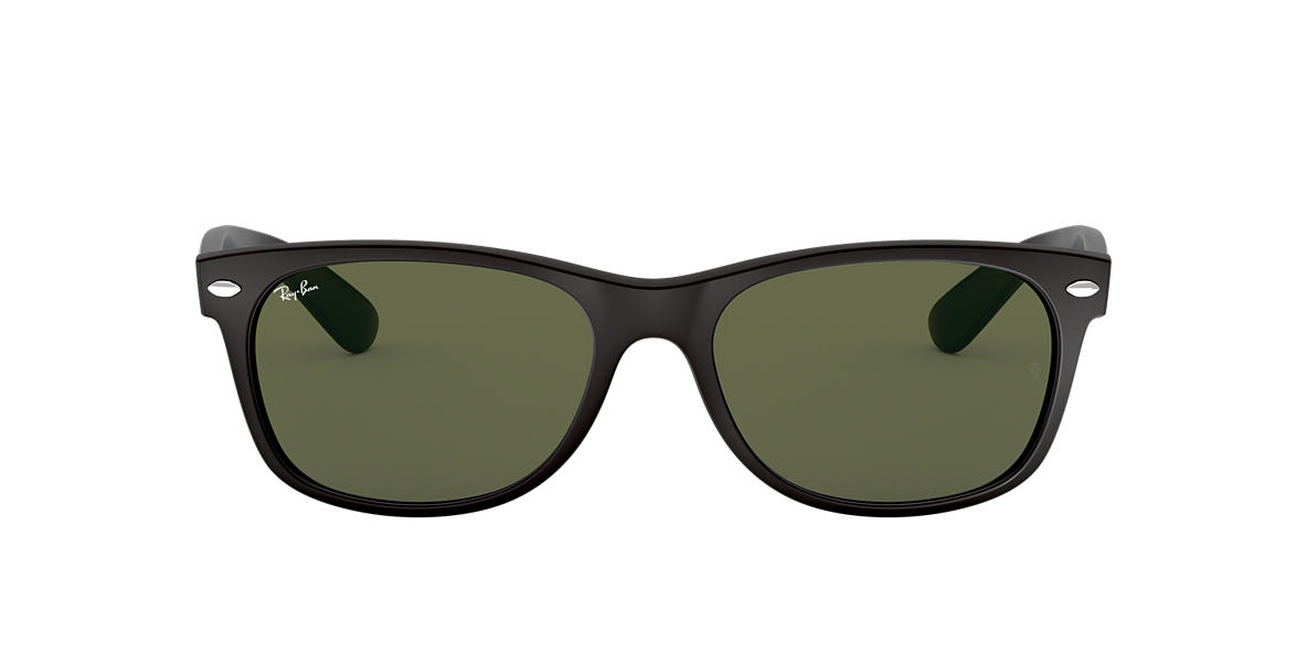 Black RB2132 NEW WAYFARER BICOLOR Green  55