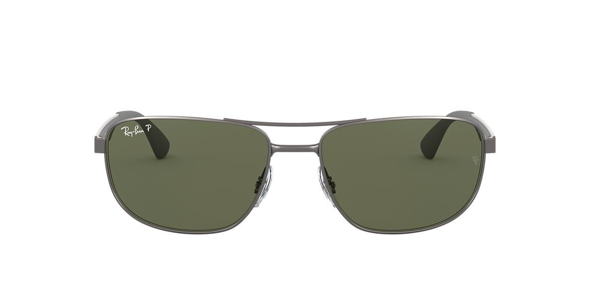 Gunmetal RB3528 Green  61