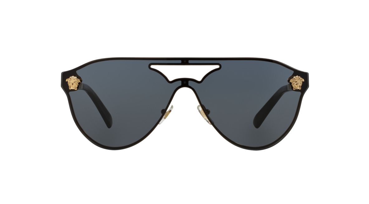 b528868b6535 Versace VE2161 01 Grey-Black   Gold Sunglasses