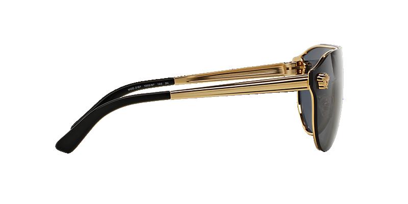 c5f4960c80 Versace VE2161 01 Grey-Black   Gold Sunglasses