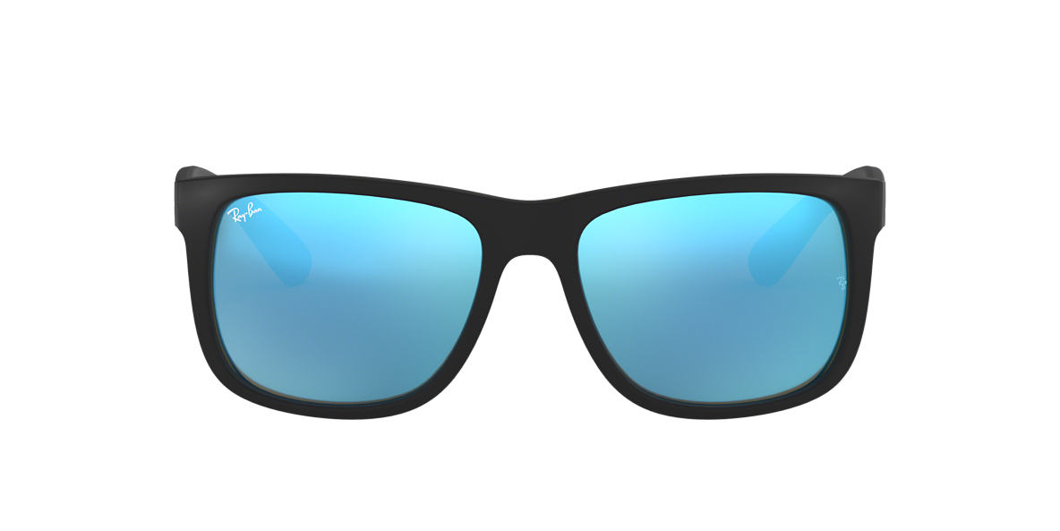 3906a1a862 Ray-Ban RB4165 54 Blue Mirror   Black Sunglasses