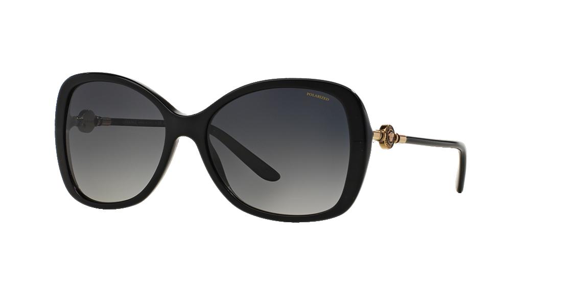 64feb89e47 Versace VE4303 58 Grey-Black   Brown Polarized Sunglasses