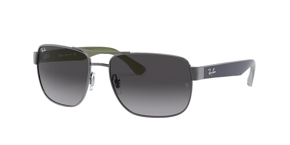 664d7b5a9e9 Ray-Ban RB3530 58 Grey Gradient   Gunmetal Sunglasses