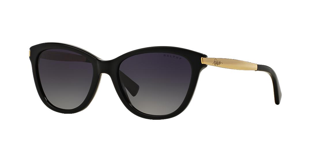cd291f9923 Ralph RA5201 54 Grey-Black   Black Polarized Sunglasses