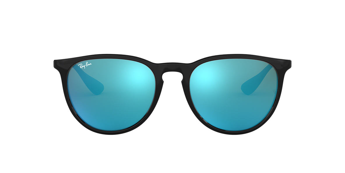d1499dd27a Ray-Ban RB4171 ERIKA 54 Blue Mirror   Black Sunglasses
