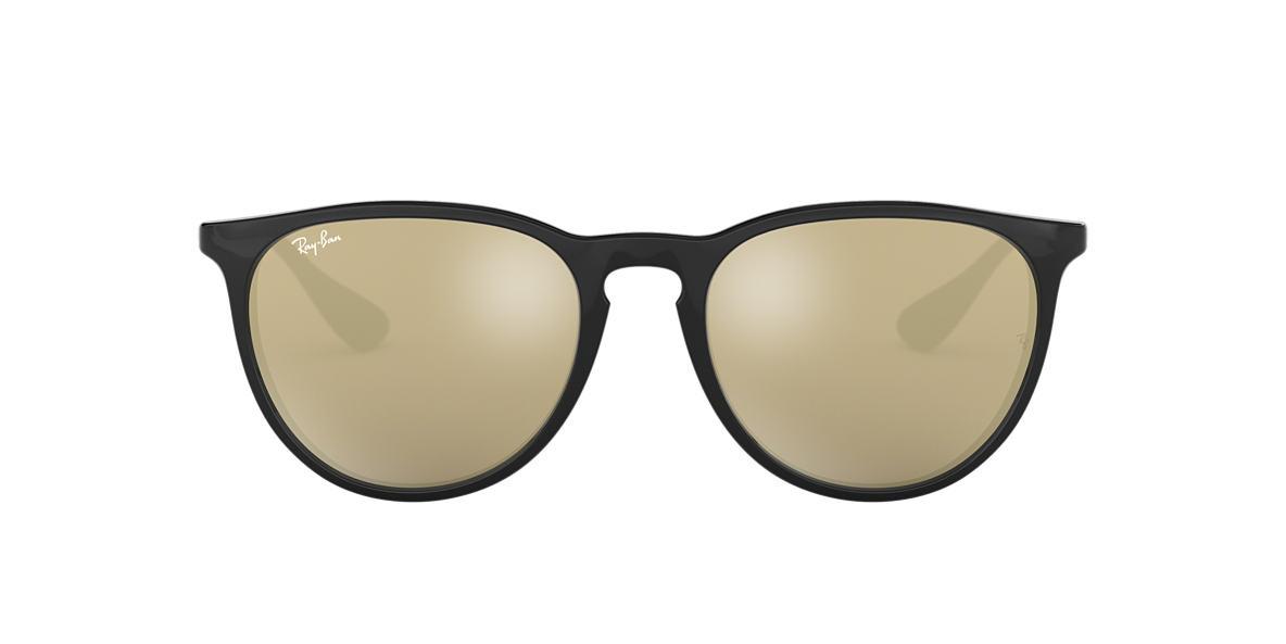 a4ab9177bc681 Ray-Ban RB4171 ERIKA 54 Gold Mirror   Black Sunglasses   Sunglass ...