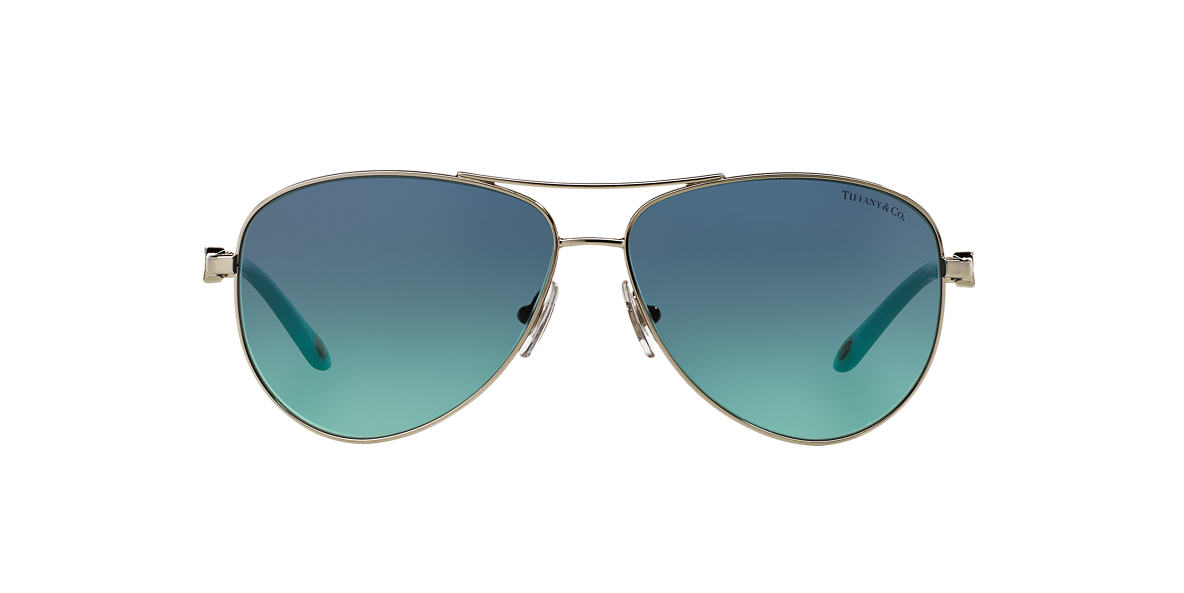 1917d08cce7a Tiffany TF3049B 58 Blue   Silver Sunglasses