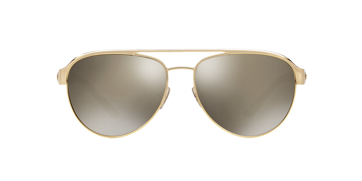 ff47435b43c Versace VE2165 58 Gold   Gold Sunglasses