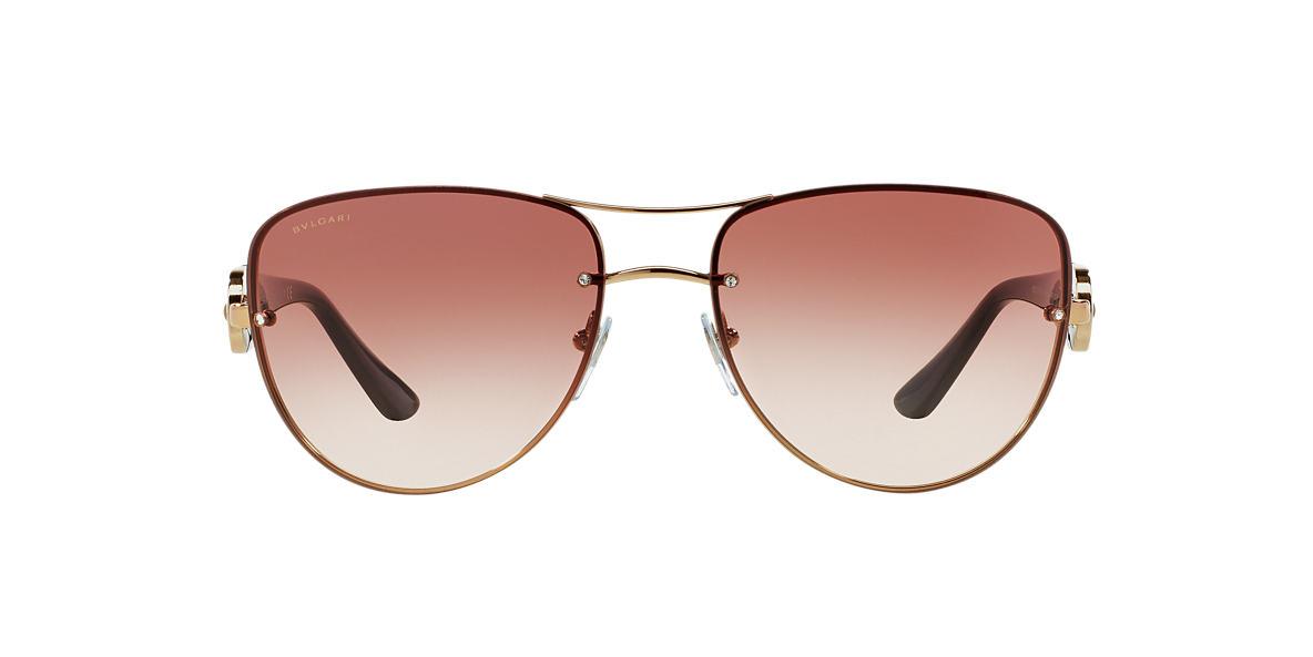 Bvlgari BV6053BM 60 Purple & Rose Gold Sunglasses | Sunglass Hut USA