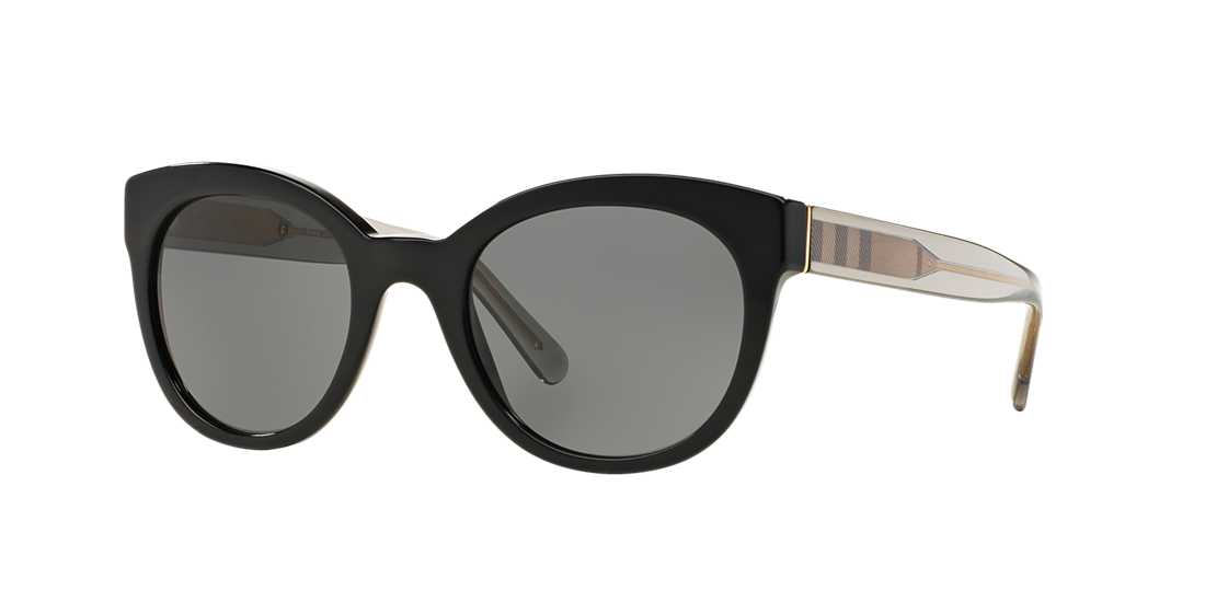 81fcd85fa00 Burberry BE4210 52 Grey-Black   Black Sunglasses