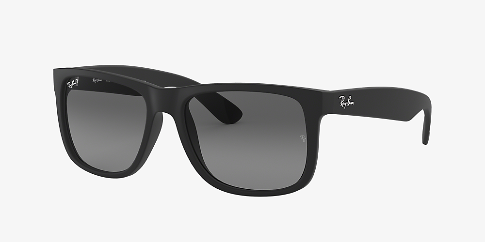 8f450e2de798 Ray-Ban RB4165 JUSTIN CLASSIC 55 Grey-Black & Black Polarised ...