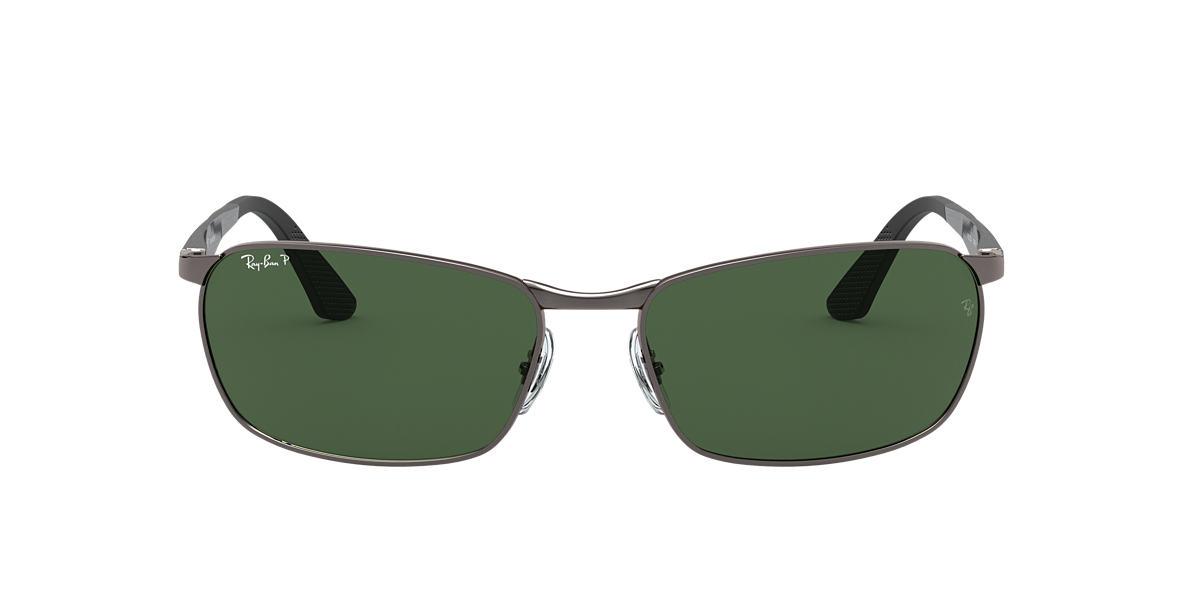 Gunmetal RB3534 Green  59