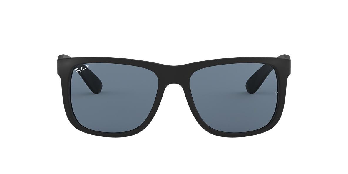 01408c0803 RAY-BAN Black RB4165 Polarized Blue Classic polarized lenses 54mm