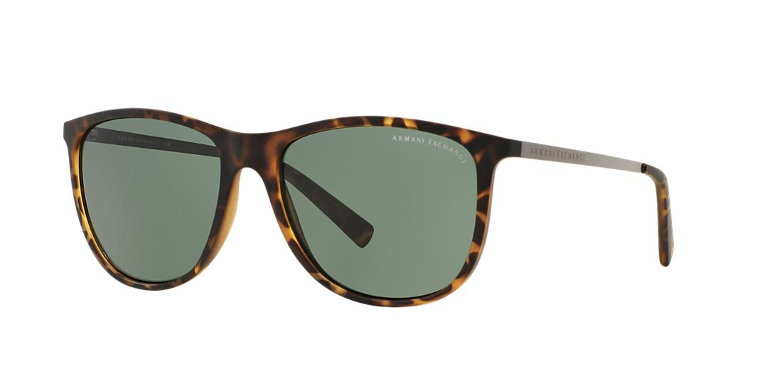 Image of Armani Exchange Ax4047sf Tortoise Square Sunglasses 8053672510775