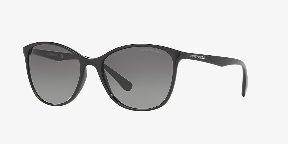 fd23f954f0 Emporio Armani EA4073 56 Grey-Black & Noir Lunettes de soleil ...