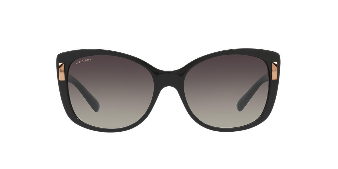 Bvlgari BV8170F 57 Grey & Black Sunglasses | Sunglass Hut Australia