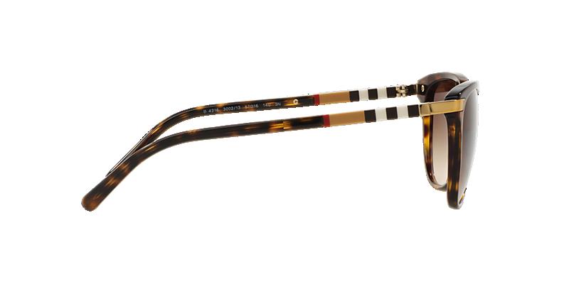 2f80276e02 Burberry BE4216 57 Brown   Tortoise Sunglasses