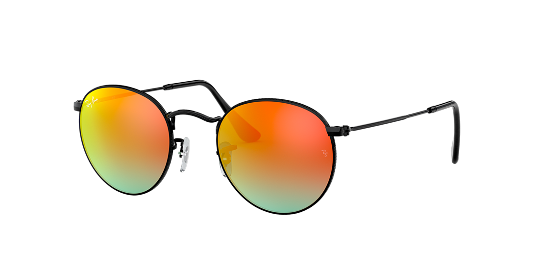 f42594f88cfe Ray-Ban RB3447 50 Orange Gradient Flash   Black Sunglasses ...