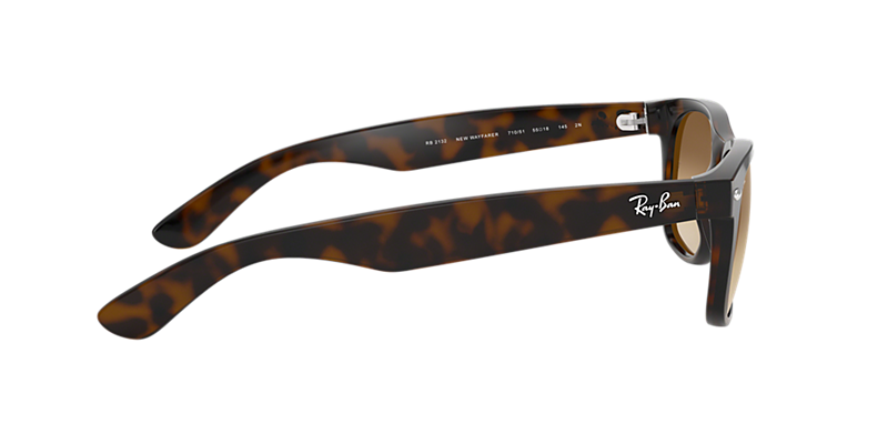bc40d659c7 Ray-Ban RB2132 58 NEW WAYFARER 58 Light Brown Gradient   Tortoise ...