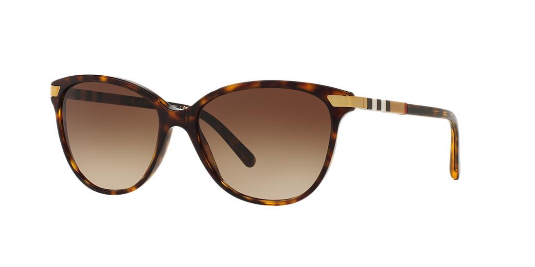 Image of Burberry Be4216f Tortoise Cat Sunglasses 8053672563177