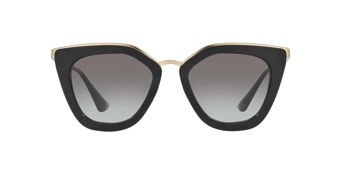 Gafas De Sol 53ss 1ab6r2 Negro, 52 Prada
