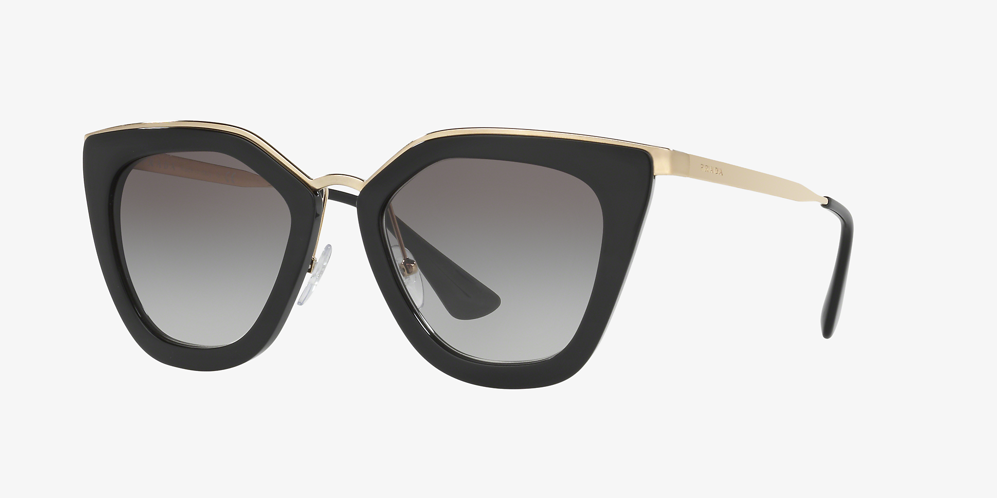 09f8afebcab4 Prada PR 53SS 52 Grey-Black & Black Sunglasses   Sunglass Hut Australia