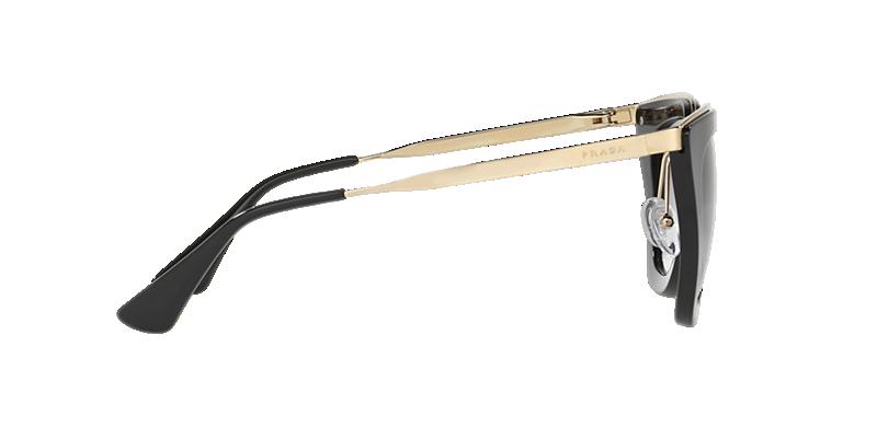051863eff7 Prada PR 53SS 52 Grey-Black   Black Sunglasses