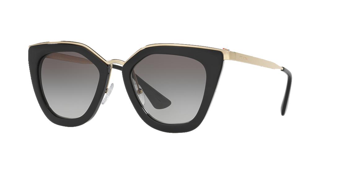 129f512e95a7 Prada PR 53SS 52 Grey-Black   Black Sunglasses