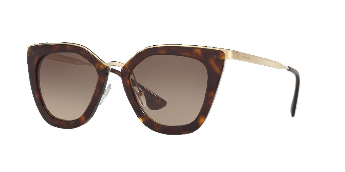 fe2cab2018 Prada PR53SS 52 Grey-Black   Tortoise Sunglasses