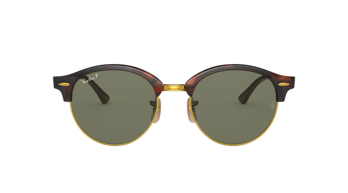 26e3d80af6 Ray-Ban RB4246 51 CLUBROUND 51 Polarized Green Classic G-15 ...