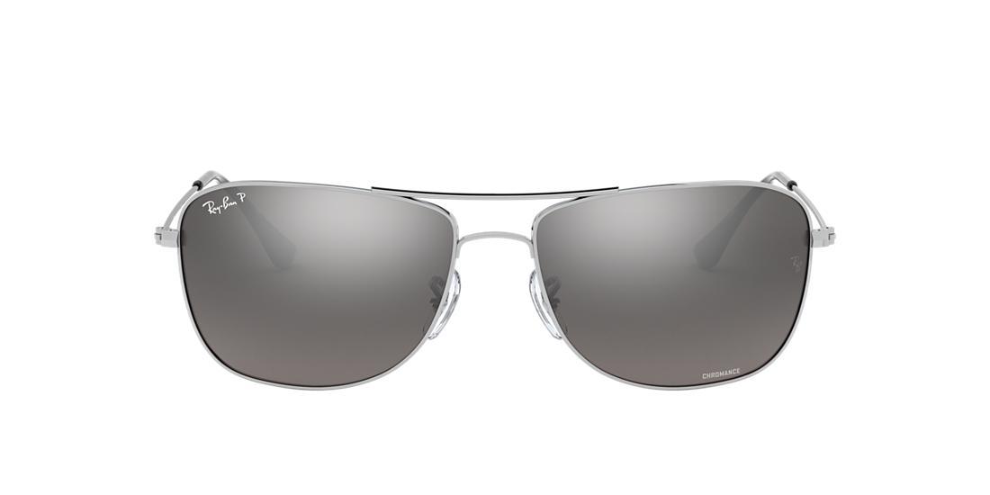d41f11cdff Ray-Ban RB3543 59 Silver Mirror Chromance Polarized   Silver ...