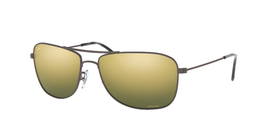 95a607e8a12 Frame  gunmetal. Lenses  green mirror chromance polarized. PDP Product Image
