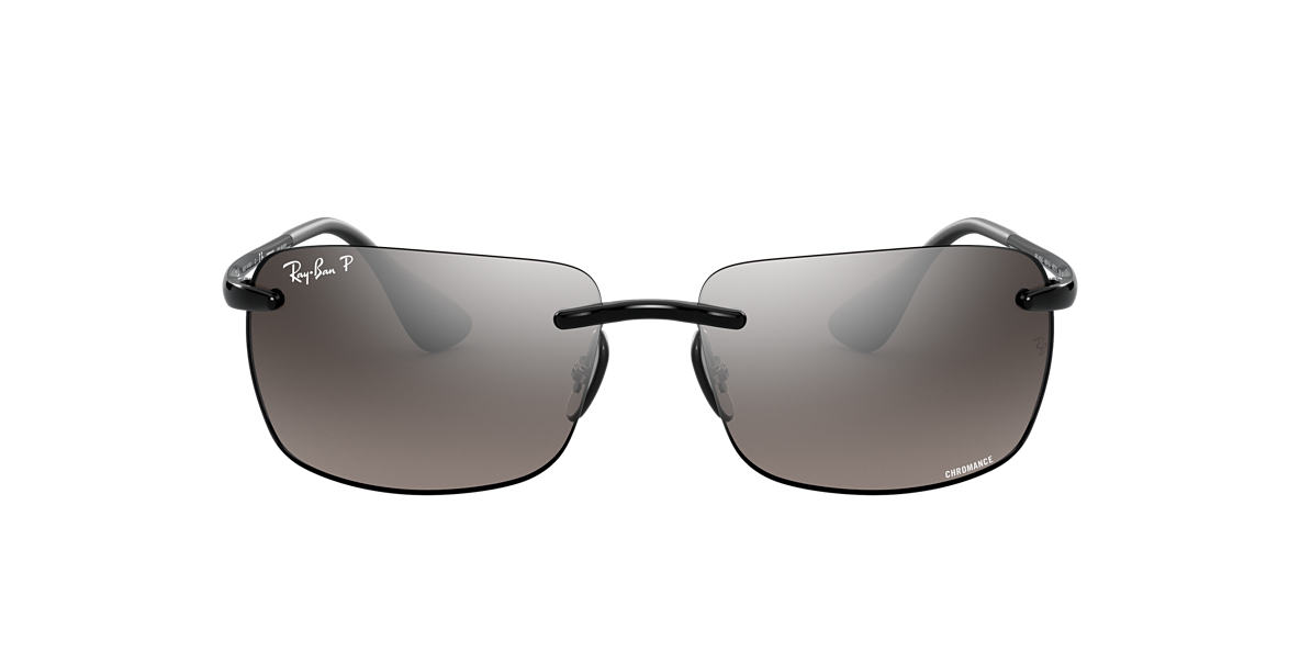 Ray-Ban RB4255 RB4255 Chromance 60 Grey-Black & Black