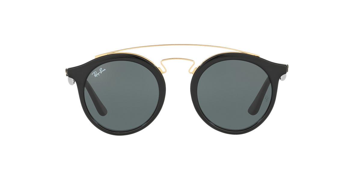 5ee8ba639fc64 Ray-Ban RB4256 46 Green Classic   Black Sunglasses   Sunglass Hut ...