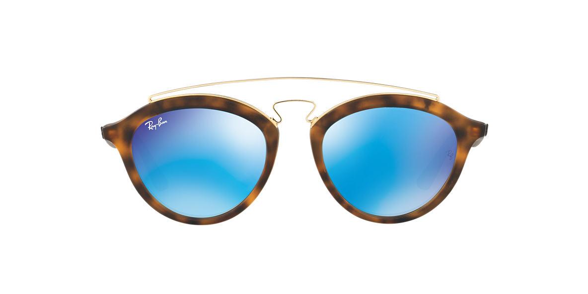 0e3b0cfdf9 Ray-Ban RB4257 50 Blue Mirror   Tortoise Sunglasses