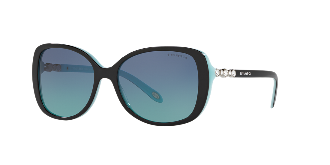 a829e33642b Tiffany TF4121B 55 Blue   Black Sunglasses