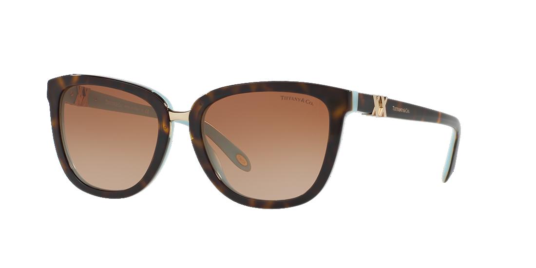 50a331eebd9 Tiffany TF4123 55 Brown   Tortoise Sunglasses