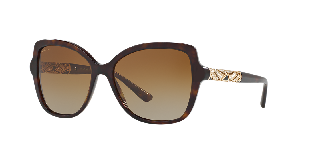 ac7ec48529 Bvlgari BV8174B 56 Brown   Tortoise Polarised Sunglasses